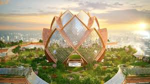 Architecture design concept School Go To Escape The Craziness Of Everyday Life If You Live In Metropolis Perhaps Youd Visit The city In The Sky This Architectural Design Concept My Modern Met Modern Architecture That Revolutionizes Everyday Life