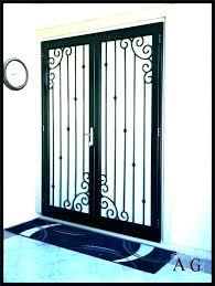 security doors home depot sliding screen charming double door bar defender lock