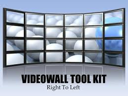 tv powerpoint templates video wall tool kit a powerpoint template from presentermedia com