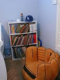 kids baseball glove chair