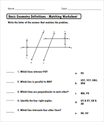Geometry Basics Worksheet Worksheets for all   Download and Share ...