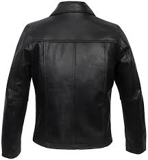 childrens black leather jacket