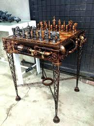 steam punk furniture. Steampunk Furniture For Sale Creative Steam Punk Minimalist Chess Set R
