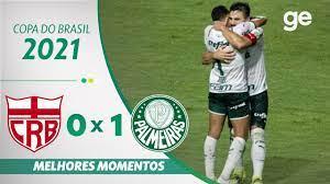 CRB 0 X 1 PALMEIRAS | MELHORES MOMENTOS | 3ª FASE COPA DO BRASIL 2021