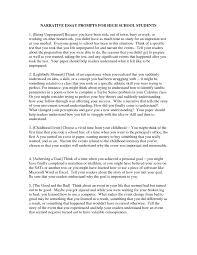 High School Sample Narrative Essay Pics Nhs Essays Outline