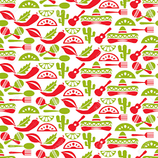 Mexican Pattern Awesome Mexican Pattern Fiesta And Sombrero Seamless Background Mexico