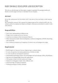 writing a job description template. How to Write Job Descriptions