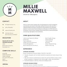 Free Online Resume Maker Canva With Regard To Resume Online Template