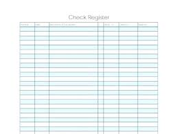 Spreadsheet Account Balance Worksheet And Printable Check Register