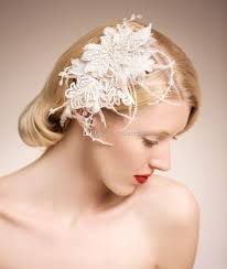 stunning bridal accessories vintage pearls feather hair Wedding Hair Pieces With Feathers stunning bridal accessories vintage pearls feather hair accessories birdcage hair pieces tiaras hand made lace wedding accessories vl18 rose hair Flower and Feather Hair Pieces