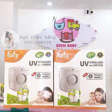 Máy tiệt trùng sấy khô bằng tia UV Fatz Baby FB4702KM - Tặng 2 bình sữa Fatz  260ml và 150ml giảm chỉ còn 2,750,000 đ