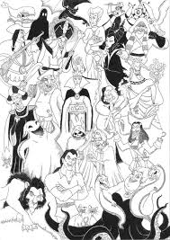 Descendants is a disney channel original movie that premiered on july 31, 2015. Free Disney Villains Coloring Pages Coloring Home