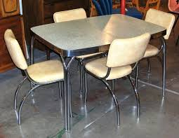 brilliant 1950 dining chairs chrome dinette set vine 1950s chrome dining 1950s dining table and chairs plan dining room