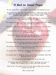best school prayer ideas back to school prayer  a back to school prayer for my daughter going to middle school