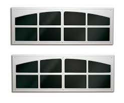 fake garage door window overlay 2 pack