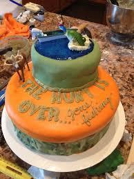 Huntingfishing Grooms Cake Cakes Wedding Groom Cake Wedding