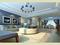 Best Living Room Paint Colors Combination White Soft Blue Wall