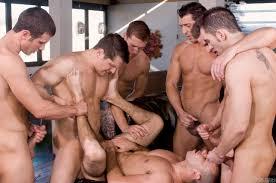 Gay group sex tube