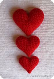Crochet Heart Pattern Free Awesome Owlishly Corazoncitos Free Amigurumi Heart Pattern In 48 Sizes