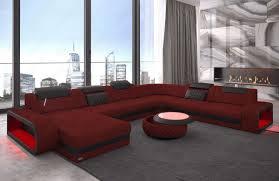 Wohnlandschaft Berlin Xxl Stoffbezug Wohnzimmer Sofa In