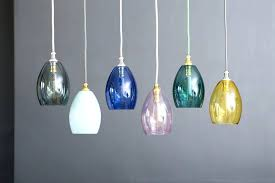 full size of blue glass lamp shades uk stained shade pendant light canada small coloured by