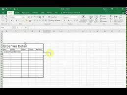 How We Can Make Ledger On Excel Sheet