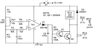 security electronics systems and circuits part nuts volts basic voltage sensing alarm circuit