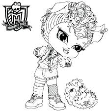 free coloring pages monster high monster high babies coloring pages monster high baby coloring monster high