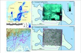 Maps Of The Baltic Sea And The Helsinki Sea Area A