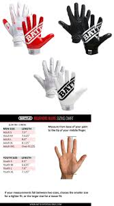 Youth Glove Size Chart Football Cheap Wilson Youth Football Gloves Size Chart Buy Online