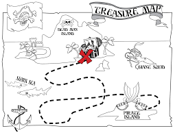 Coloring Pages Real Treasure Hunts Cryptic Treasures Map