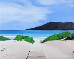 flamenco beach beach painting puerto rico painting