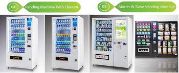 Customized Vending Machines Delectable Snack And Beverage Combo Vending Machine Snack And Beverage Combo