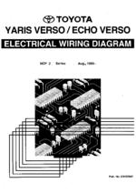 toyota corolla wiring diagram 2001 toyota yaris verso echo electrical wiring diagram