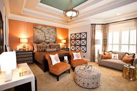 orange wall paintIs that orange paint or wallpaper on the far wall If paint what
