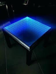 infinity coffee table mirror diy