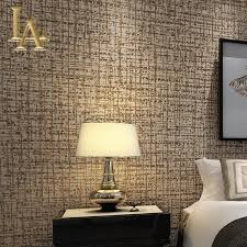 modern solid color flocking textured wallpaper light grey beige pertaining to wallpaper designs for living room