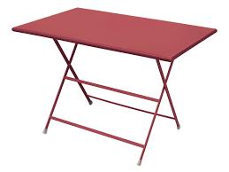 arc en ciel outdoor folding rectangular dining table