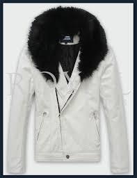 mens rabbit fur leather jacket