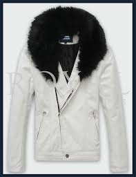 mens rabbit fur leather jacket