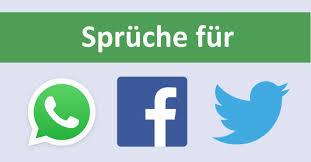 Sprüche Für Facebook Whatsapp Und Co Von Lustig über Nachdenklich