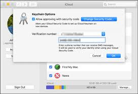Icloud Security Code How To Enable Icloud Keychain On Apple Devices Iphone Ipad