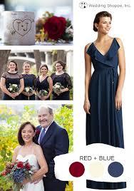 Dusty blue pink gold classic wedding ideas Color Palette Redbluesummerweddingcolorscheme Elegant Wedding Invites Top 10 Summer Wedding Color Schemes Wedding Shoppe
