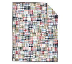 Twin Cotton Quilt | Pottery Barn Kids & Madras Quilt, Multi, Twin Adamdwight.com