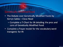 genetically modified organisms gmos ppt video online  24 genetically modified food