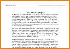 Autobiography On Myself How To Write An Autobiography About Yourself