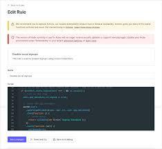 debug rules