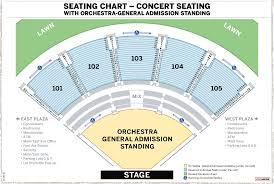 Verizon Wireless Amphitheatre Seating Chart Atlanta 48 Explanatory Seating Chart For Verizon Wireless Amphitheater