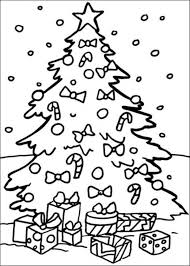 Small Picture Free Coloring Pages For Christmas Tree Christmas Coloring pages