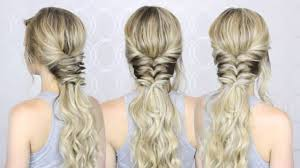 Quick Ponytail Hairstyles How To Topsy Tail Ponytail Easy And Quick Summer Hairstyle
